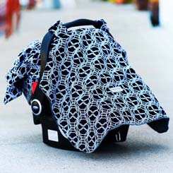 Pattern For Infant Slip Over Car Seat Cover