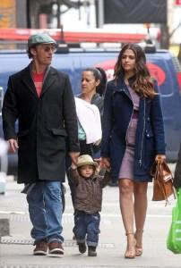 McConaughey and family get corny