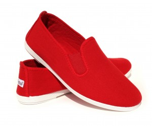 Eco_Womens_Classic_Shoes_Red_Front