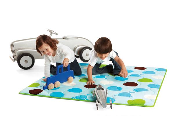 whale playmat