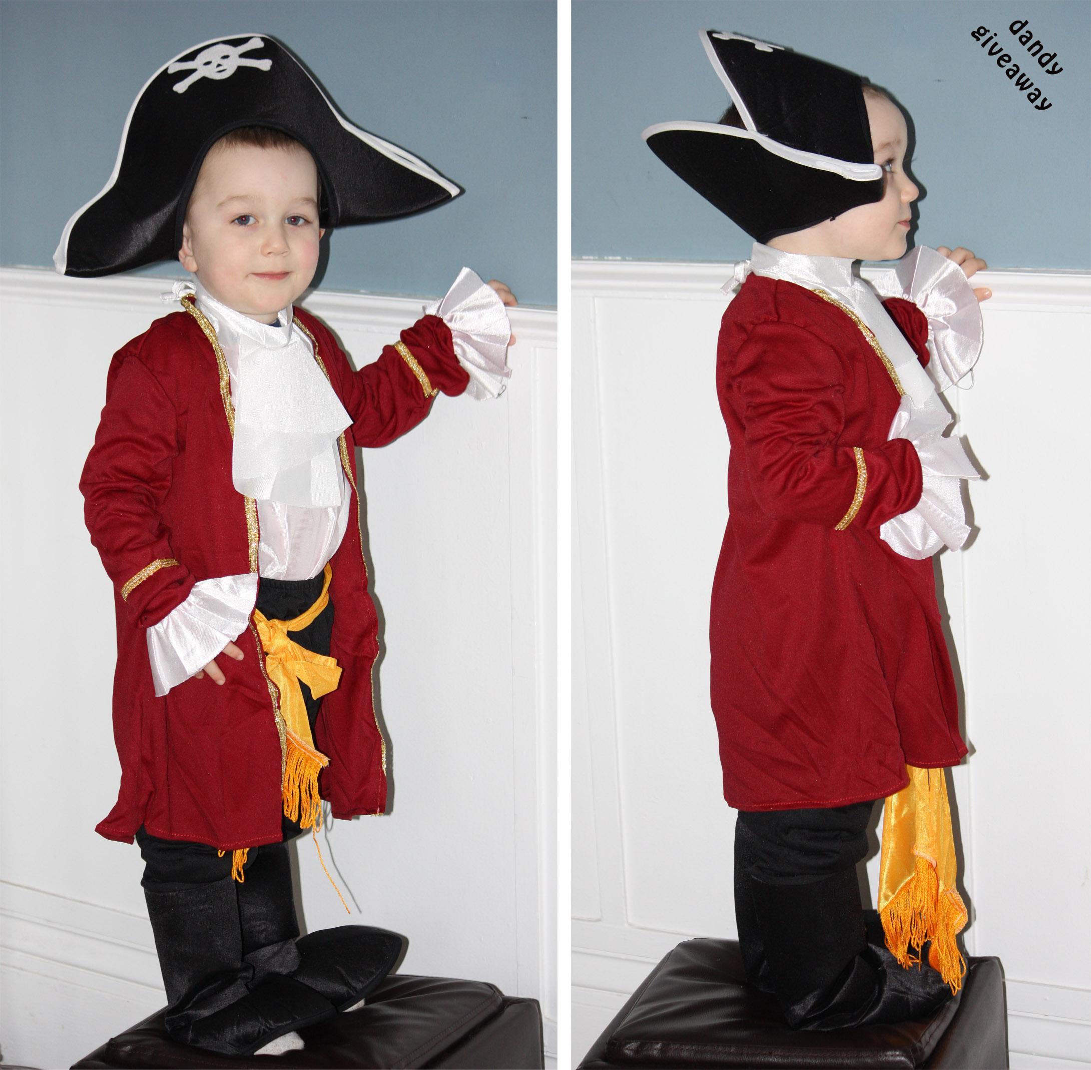 Disney Captain Hook Hat for Kids Red