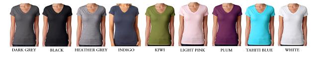 Womenvneckcolors