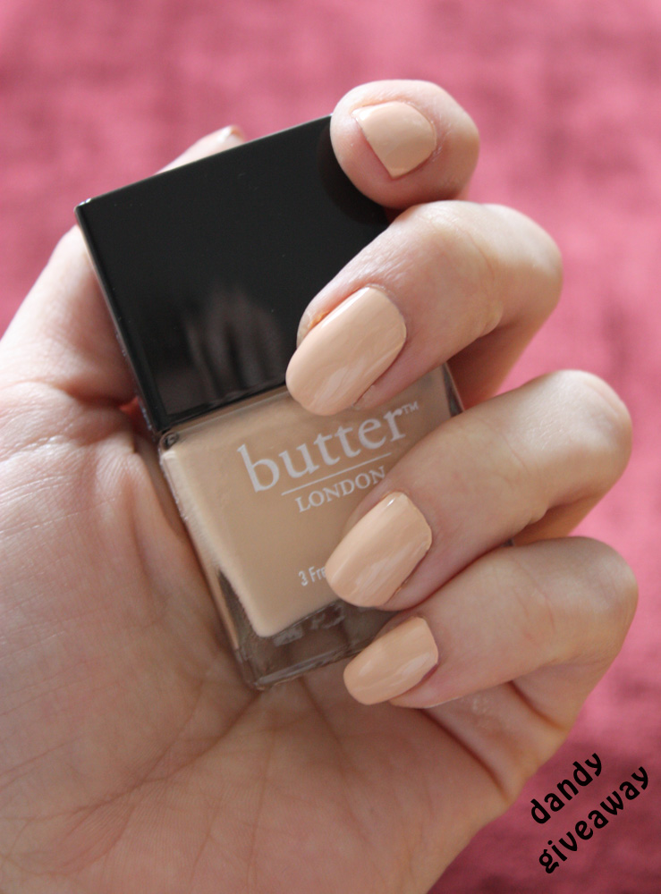 Butter London Nail Lacquer Dandy Giveaway Dandy Giveaway
