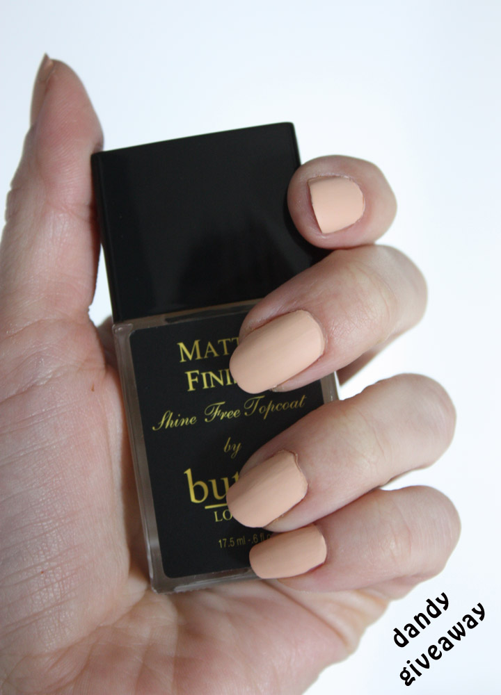 butter LONDON Nail Lacquer {Review} - Dandy Giveaway