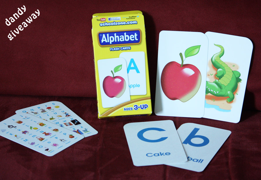 Alphabet flash cards by educational toys planet review for Educational coloring pages abc flash cards