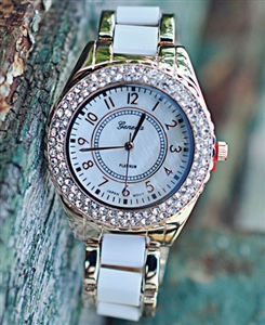 Gold_White_Crystal_Watch-2T