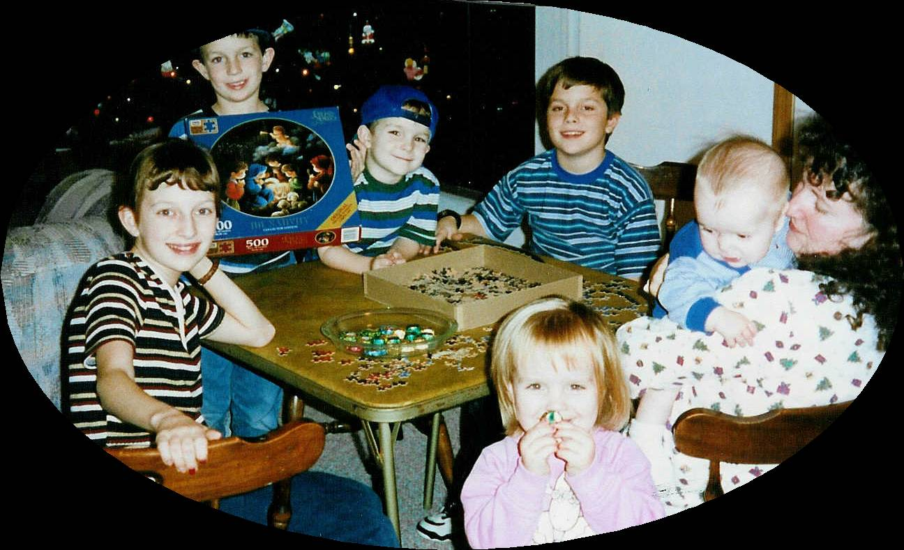 Christmas Puzzle 1997