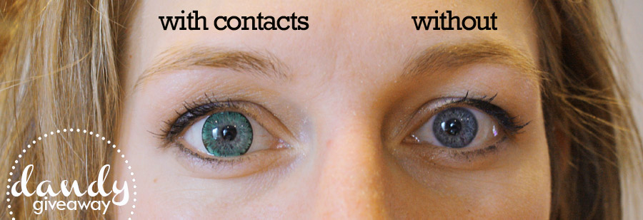 How To Put In Colored Contacts