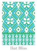 Spring 2014 Swatch - Ikat Bliss 124 x 170