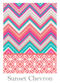 Spring 2014 Swatch - Sunset Chevron 124 x 170