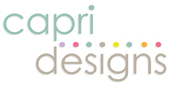 Capri Designs Color Palette Logo, Final