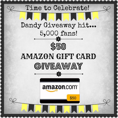 5,000th Fan Amazon Gift Card GIVEAWAY
