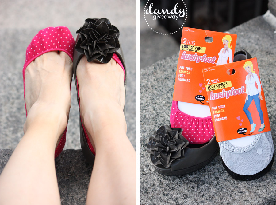 Spring Foot Covers from Kushyfoot {Giveaway}