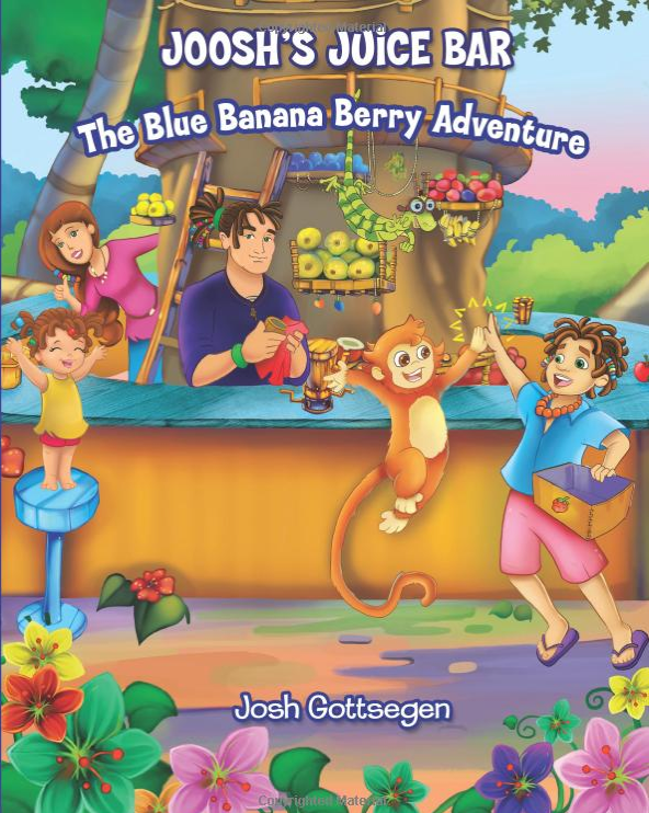 Joosh's Juice Bar Children's Book {Giveaway} – Closed