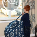 Thoroughly Modern Minis Bean Bag Cover {Giveaway} Closed